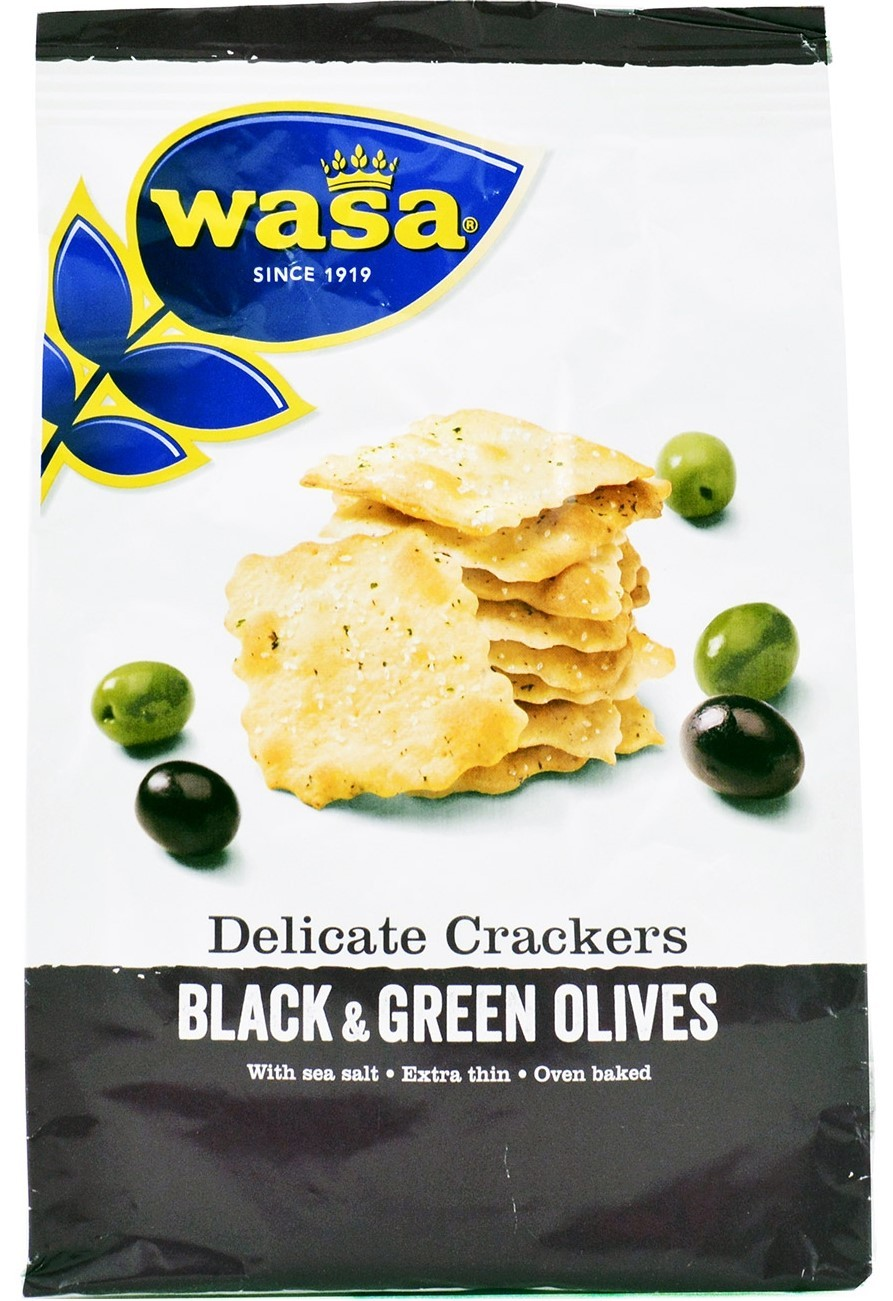Wasa+Delicate+Crackers+Olive+150gr