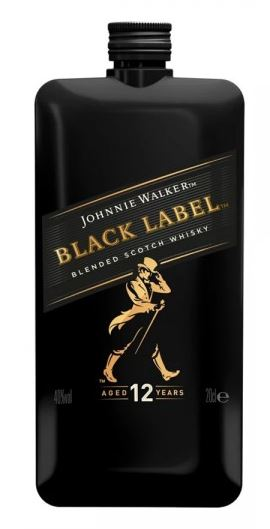Johnnie Walker Black Label Pocket Size Ουίσκι 200ml