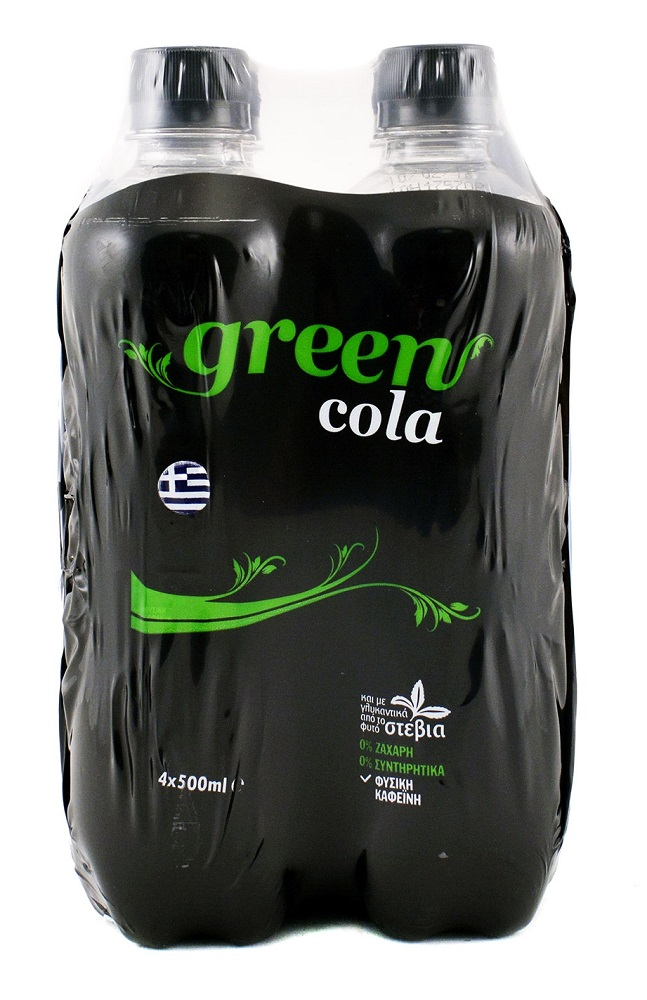 Green Cola 4x500ml
