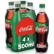 Coca- Cola Με Στέβια 4x500ml