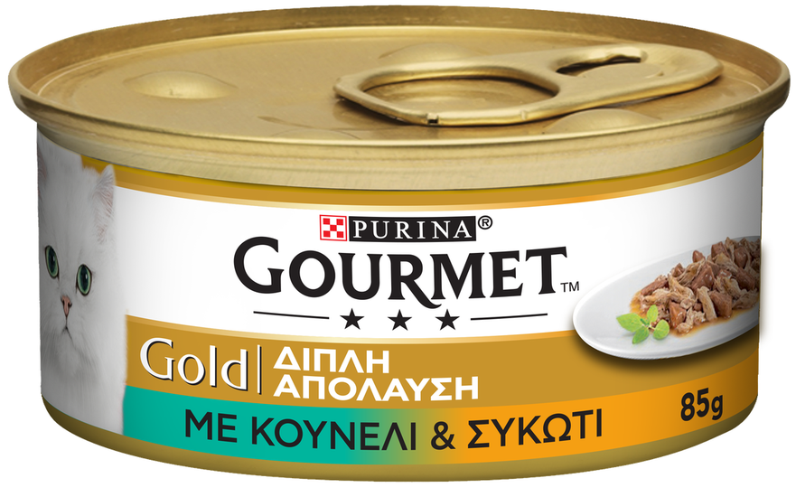 Gourmet Gold  Κουνέλι Και Συκώτι 85gr