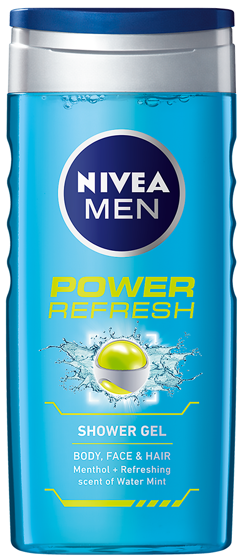 Nivea For Men Power Refresh Ντους 500ml