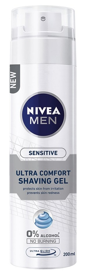 Nivea Sensitive Ultra Comfort Gel Ξυρίσματος 200ml