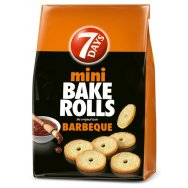 7 Days Bake Rolls Mini Barbeque 160gr