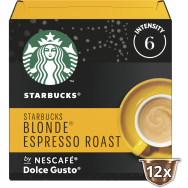 Starbucks Epresso Roast Blonde 6 Κάψουλες 66gr