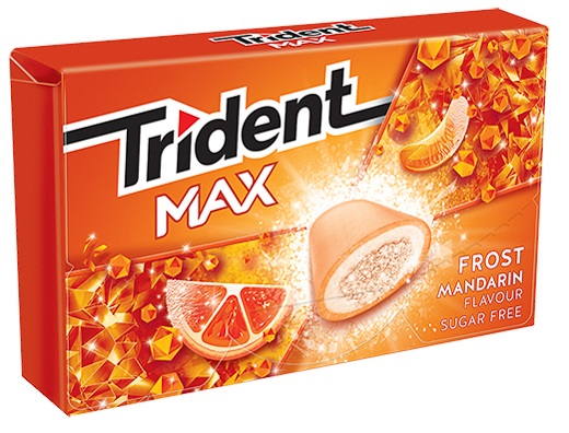 Trident Max Frost Τσίχλα Μανταρίνι
