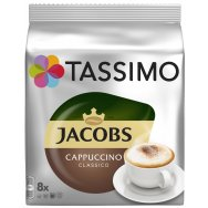 TASSIMO Κάψουλες JACOBS Capuccino 8τεμάχια