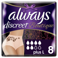 Always Discreet Boutique Large Pants 8τεμάχια