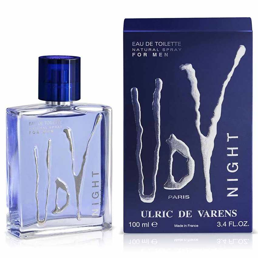 Ulric De Varens Night Eau De Toillette Spray 60ml -1,50€