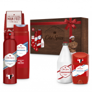Old Spice Whitewater Ντους+After Shave Lotion+Spray+Stick 50ml