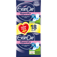 Everyday Hyperdry Ultra Plus Super Economy 18 τεμ.