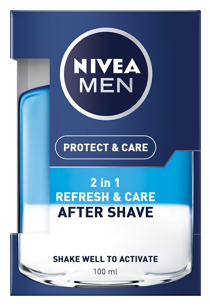 Nivea Protect & Care After Shave 2 σε 1 100ml