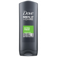 Dove Men Extra Fresh Ντους 400ml 1+1Δώρο