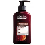 L'OREAL Men Expert Barber Club Beard Face & Hair Wash 200ml