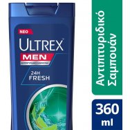 Ultrex 24hour Fresh Σαμπουάν 360ml
