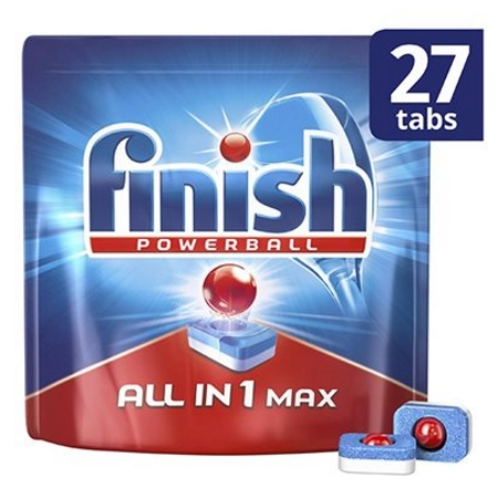 Finish All In 1 Max Ταμπλέτες Πιάτων 27τεμ