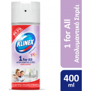 Klinex 1 For All Απολυμαντικό Spray Flow 400ml