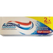 Aquafresh Fresh & Minty Οδοντόκρεμα 2x75ml