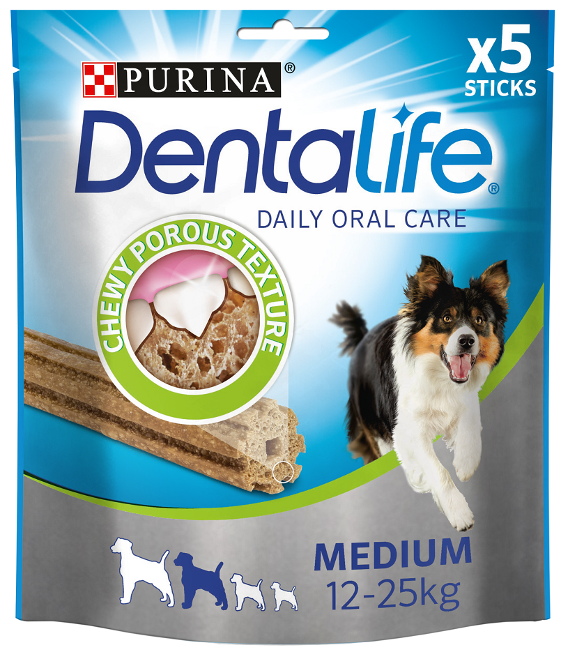 Purina Dentalife Medium 12-25kg 115gr