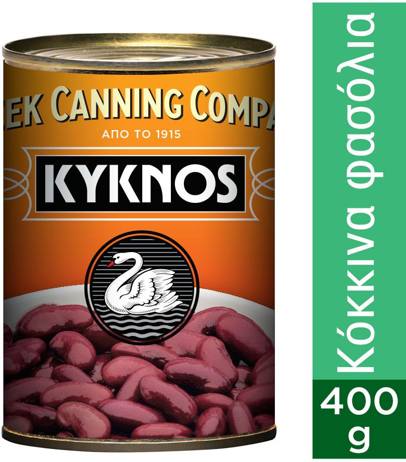 Kyknos Φασόλια Κόκκινα 400gr