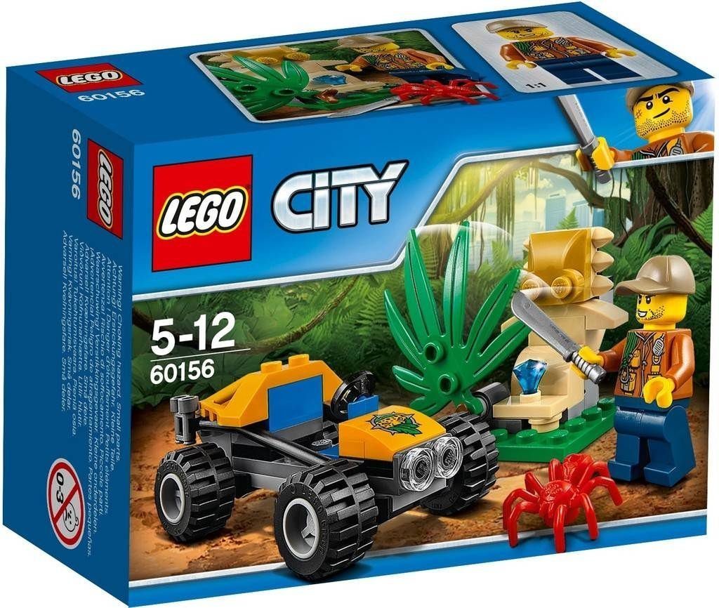 Lego City In/Out 2017 Jungle Buggy