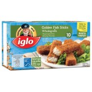 Captain Iglo Fish Sticks Ολικής Άλεσης 250gr