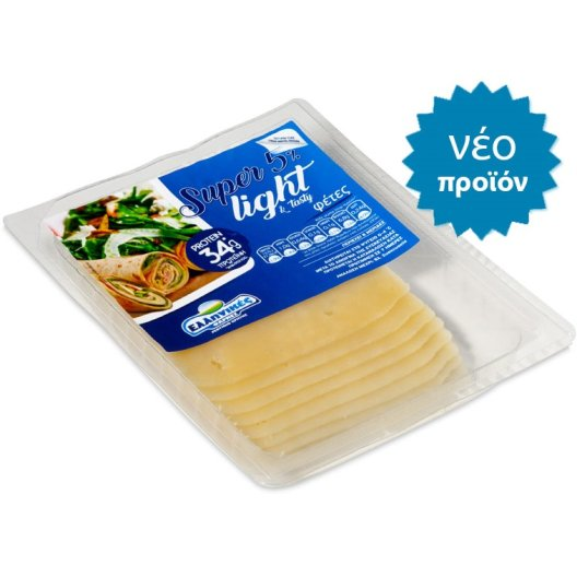 Super 5% Light & Tasty Φέτες 160γρ.