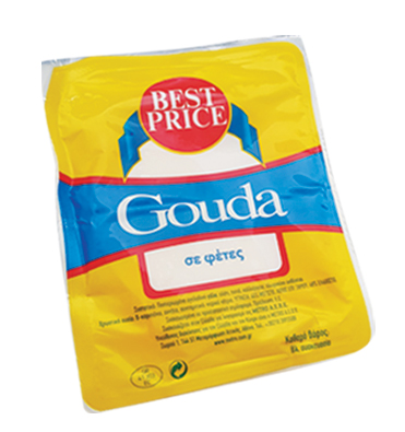 Best Price Gouda Φέτες 500gr