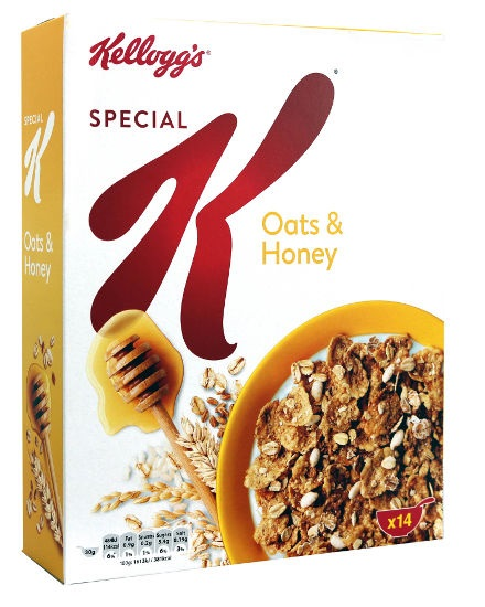 Kellogg's Special K Oats & Honey 420gr