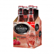Strongbow Red Berries Φιάλη 330ml 3+1 Δώρο