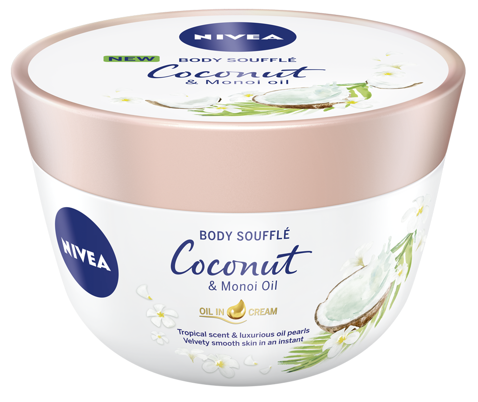 Nivea Body Souffle Coconut & Monoi Oil 200ml