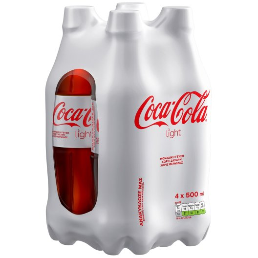 Coca-Cola Light 4x500ml