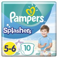 Pampers Πάνες Splashers Carry Pack 5-6 (10τεμ) 14+ kg