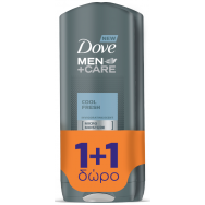 Dove Men Cool Fresh Ντους 400ml 1+1 Δώρο