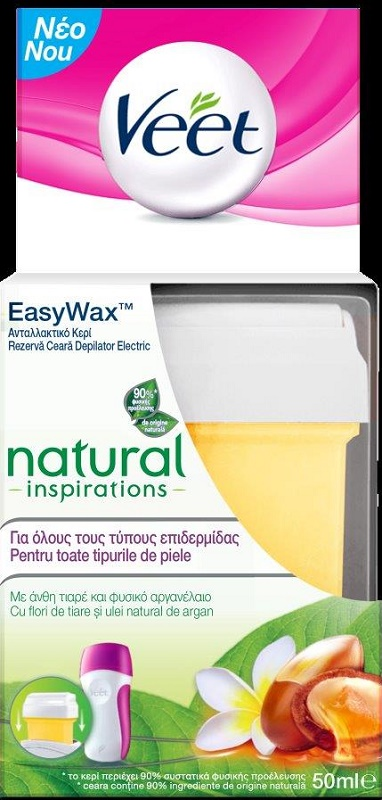 Veet Ανταλλακτικό Easy Wax Electrical Roll On 50ml