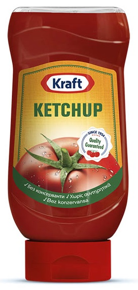 Kraf Ketchup Top Down 465gr