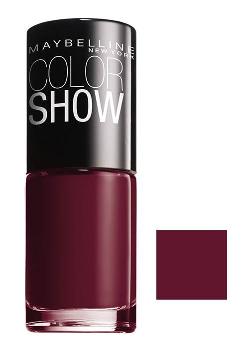 Maybelline 352 Color Show DownTown Red Μανώ 7ml 0,50€