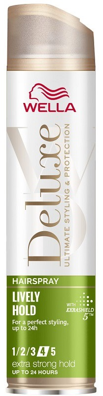 Wella Deluxe Λακ Lively Extra Strong 250ml