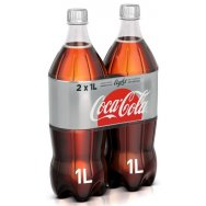 Coca-Cola Light 2x1lt -0,30€