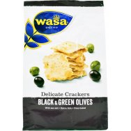 Wasa Delicate Crackers Olive 150gr