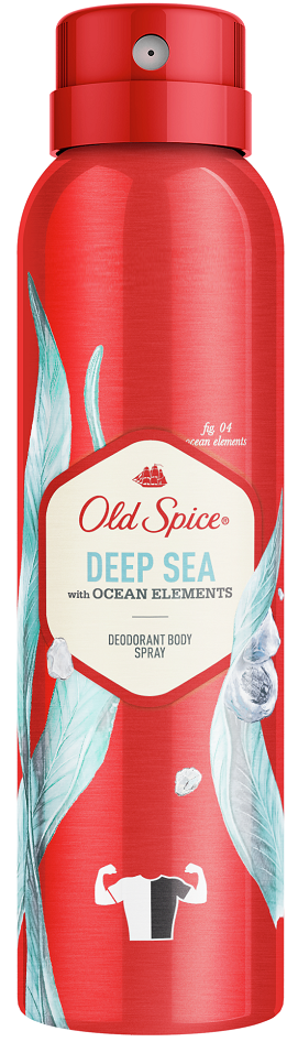 Old Spice Deep Sea Αποσμητικό Spray 150ml