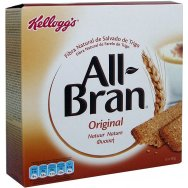 Kellogg's Bars All Bran Natural Bar 6x40gr