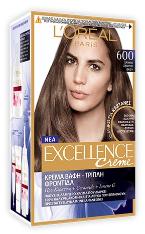 L'OREAL Excellence Βαφή Μαλλιών Νο600