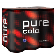 Pure Cola Line 330ml 5+1 Δώρο