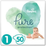 Pampers Πάνες Pure Protection (50τεμ) Νο1 (2-5kg)