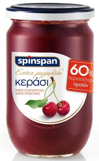 Spin Span Extra Μαρμελάδα Κεράσι 600gr