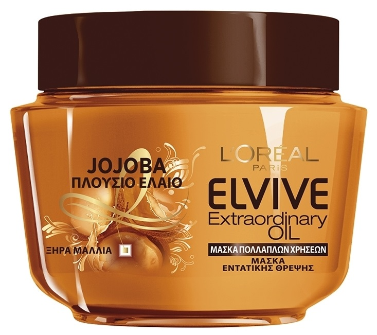 Elvive Extraordinary Jojoba Μάσκα Μαλλιών 300ml