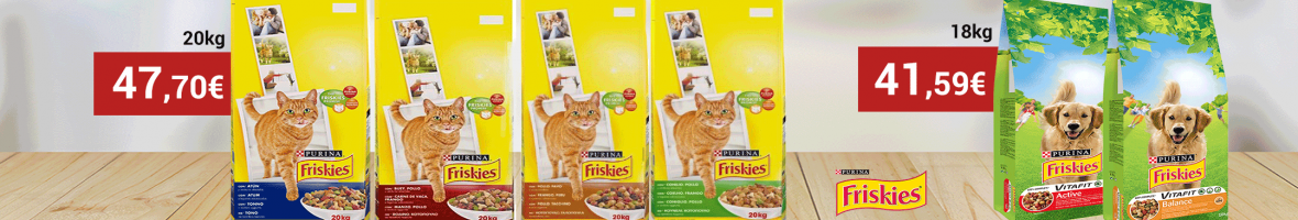 Friskies 20kg pet monimo