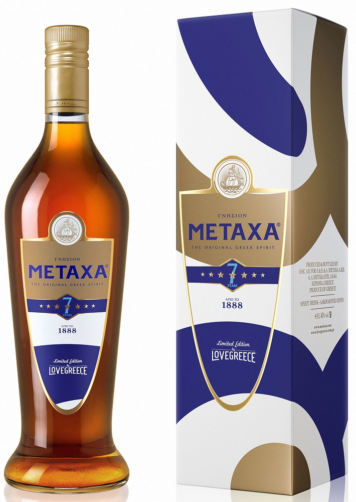 Metaxa 7* Love Greece 700ml